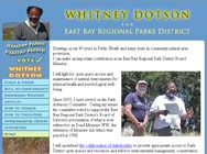 Whitney Dotson for EBRPD